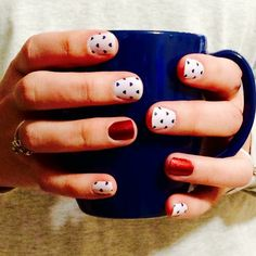 July 4th mani's don't have to be overtly flags. Puppy Love and Mai Tai Jamberry nail wraps are subtlety patriotic. http://ErikasPrettyPinkies.Jamberry.com