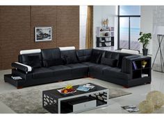 Malone Leather Lounge - bold curved features and two tone colour contrast will make a bold statement. Top quality cowhide leather, sturdy legs and pocket coil springs.