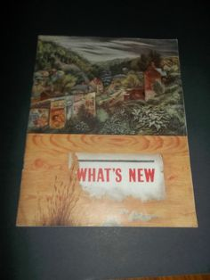 vintage WHAT'S NEW DRUG MAGAZINE June 1946 Aaron Bohrod cover Dulcet Tridione