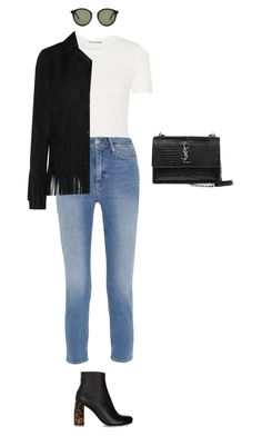 """""""Untitled #558"""" by amyjonez on Polyvore featuring STELLA McCARTNEY, Yves Saint Laurent, Acne Studios and M.i.h Jeans"""