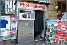 A must-do in Berlin is the Photoautomat. For a couple of euros you can take some fun black and white photos - a perfect souvenir of your trip :)