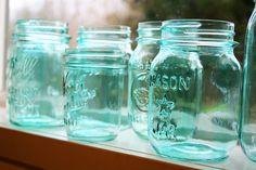 Tinting Mason Jars | My Beautiful Mess Tinting Mason Jars | Perfection is overrated.