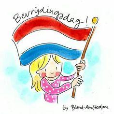 Blond Amsterdam Bevrijdingsdag
