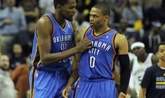 Kevin Durant Claims He Didn't Leave Oklahoma City Because of Russell Westbrook