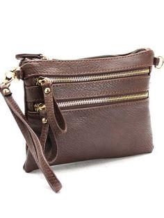 c3e698d6b4bdc Triple Zip Cross Body Bag.  34.00. This bag is the perfect fashion  accessory -