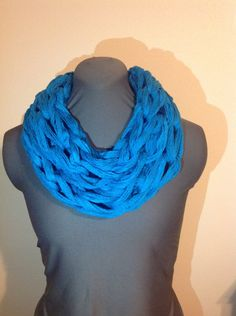 Infinity Scarf - Bright Winter and Bright Spring by thisandthathomestead on Etsy