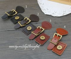 Real Leather Buckles With Magnetic Snap ,Handbag Leather Buckle for Bag making Leather Buckle, Cow Leather, Leather Craft, Real Leather, Leather Purses, Leather Handbags, Crochet Backpack Pattern, Buckle Bags, Purse Strap