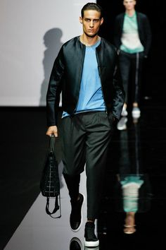 Emporio Armani | Spring 2015 Menswear Collection | Style.com