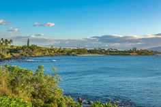 Looking into tavares bay from this Oceanfront Lot in Kuau