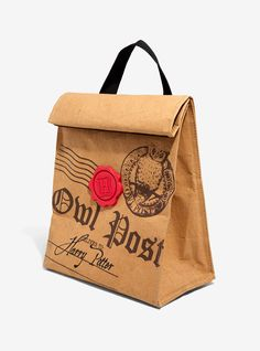 Harry Potter Owl Post Insulated Lunch Sack,