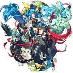 Dizzy - Guilty Gear x Character Design, Character Art, Game Art, Anime Warrior, Guilty Gear, Anime, Guilty Gear Xrd, Anime Artwork, Gear Art
