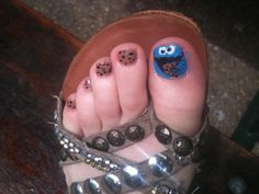Image detail for -Miss Dionne Makeup-Nail Art-cookie monster-sesame street