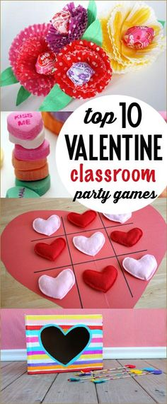 Great ideas for planning a school Valentine& party. Kid Valentine activities, games and crafts. Funny Valentine, Kinder Valentines, Valentines Day Activities, Valentines Day Party, Valentine Day Crafts, Valentine Ideas, Walmart Valentines, Valentines Hearts, Valentine Stuff