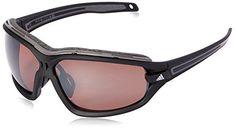 adidas Evil Eye Evo Pro S 6055 Polarized Rectangular Sunglasses Black Matte Grey 67 mm ** Click image for more details. (This is an affiliate link) Wayfarer Sunglasses, Sports Sunglasses, Retro Sunglasses, Sunglasses Online, Polarized Sunglasses, Oakley Sunglasses, Mirrored Sunglasses, Sunglasses Women, Evo