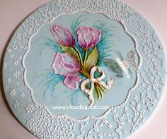 brush embroidery and piping