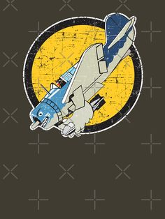 Navy Bombing Squadron - Grunge Style' Classic T-Shirt by Airplane Humor, Design Kaos, Vintage Patches, Nose Art, Military Art, Pin Up Art, Illustrations And Posters, Cartoon Styles, Grunge Fashion