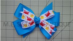 6 inch large bows $4.00 or 2 for 7$ www.facebook.com/M.E.Sistersbowtique