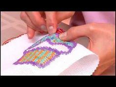 Pearl Chervon Stitch - YouTube