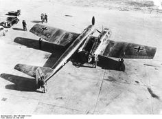 The German BV-141 is considered the most asymmetrical aircraft ever made. (May 6, 1942)