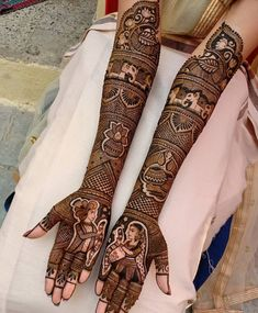 94 Easy Mehndi Designs For Your Gorgeous Henna Look Henna Hand Designs, Wedding Henna Designs, Engagement Mehndi Designs, Latest Bridal Mehndi Designs, Stylish Mehndi Designs, Best Mehndi Designs, Latest Mehndi, Mehndi Design For Bridal, Rajasthani Mehndi Designs