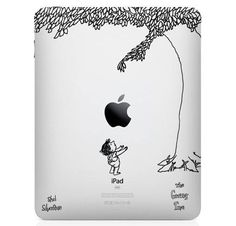 When kid lit and technology collide! Beautiful!    http://www.thefancy.com/things/235845145/The-Giving-Tree-iPad-Decal