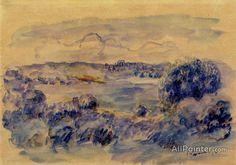 Pierre Auguste Renoir Guernsey Landscape oil painting reproductions for sale