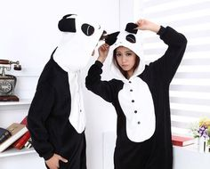 Cuter than fluffy puppies and kittens. Grab a unisex panda onesie for just $35 from Distribution Box. Say goodbye to drab flannel PJs and hello to cutesy bed wear.