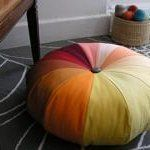 10 Tutorials for DIY Floor Poufs and Ottomans   Apartment Therapy