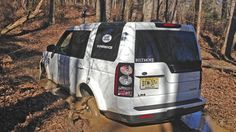 The one essential tool you need to never get stuck while driving off-road ~ Land Rover Biltmore Experience