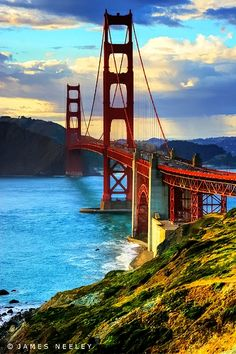 Golden Gate Bridge...San Francisco.  My future homebase city!