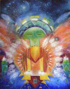 Atarot » Šamanská věštba Modern Indian Art, Spirited Art, Thing 1, All Print, Fine Art America, Nativity, Native American, Pottery, The Originals