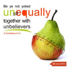 What does the bible say about unequally yoked
