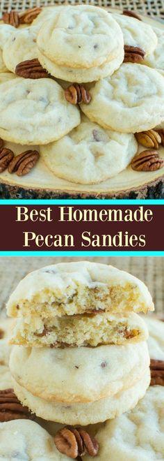 Best Homemade Pecan Sandies
