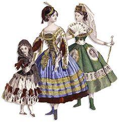 great article on victorian fancy dress