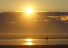 Ocean Shores Beach Sunset