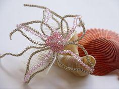 Wedding hair comb Wedding hair accessory by DesignByIrenne on Etsy