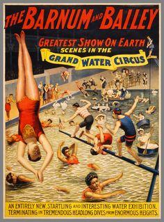 27 vieilles affiches de cirques et cabarets - La boite verte