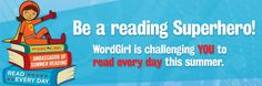 Scholastic Summer Challenge - a reading program for kids has begun - May 1st!!