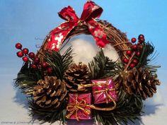 Christmas Wreaths Decorations Wallpaper