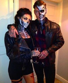 30 Scary and Funny Couple Halloween Costumes DIY Ideas for Unique and Creative L., 30 Scary and Funny Couple Halloween Costumes DIY Ideas for Unique and Creative L. 30 Scary and Funny Couple Halloween Costumes DIY Ideas for Unique . Couples Halloween Costumes Creative, Easy College Halloween Costumes, Halloween Look, Cute Couple Halloween Costumes, Couple Halloween Costumes For Adults, Diy Costumes, Adult Costumes, Halloween Recipe, Halloween Makeup