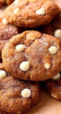 White #Chocolate #Pumpkin #Snickerdoodles