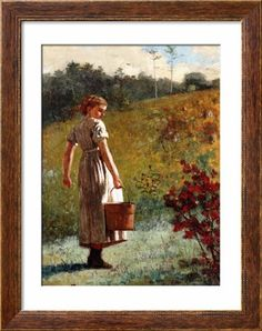 Winslow Homer - Returning From the Spring Painting American Art, Winslow Homer, Art Painting, Spring Painting, Painting, Oil Painting, Painting Reproductions, Art, Winslow Homer Paintings
