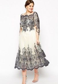 They have cute plus size dresses. Chi Chi London Plus Metallic Lace Sleeve Midi Prom Dress Plus Size Formal Dresses, Evening Dresses Plus Size, Dresses For Teens, Modest Dresses, Plus Size Outfits, Nice Dresses, Prom Dresses, Plus Size Kleidung, Cocktail Gowns