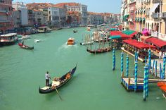 Berrak kanallarıyla Venedik