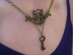 18th Century Keyhole necklace