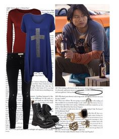 """Han"" by the-rippers-daughter ❤ liked on Polyvore featuring TEXTILE Elizabeth and James and ASOS"