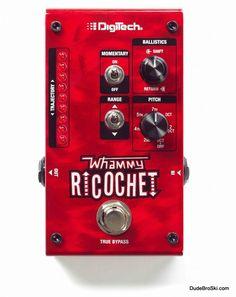 Digitech Whammy Ricochet - Classic Whammy Pitch-Shifting & New Sounds Never Heard Before