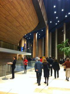 The foyer at Palace of Arts