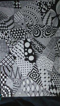 #doodles # zentangle