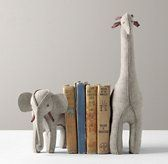 Wool Felt Animal Bookends. So cute!